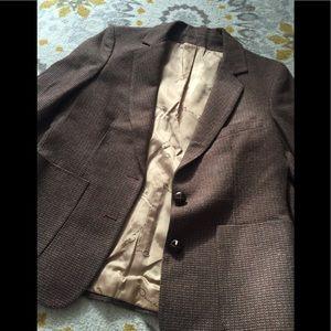 Oscar De La Renta Brown Blazer (Vintage)